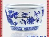 景德镇泡菜坛子 陶瓷带盖米缸米桶茶叶罐零食容器瓷罐