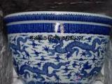 植物容器陶瓷花盆/花钵批发促销价格定做景观树陶瓷大缸鱼缸加工