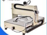 微型数控雕刻机CNC3020四轴数控雕刻机加工金属铭牌广告字
