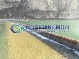 桑尼橡胶气动盾形闸门工作原理 气盾坝生产厂家价格