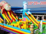 新款大型儿童充气城堡充气蹦蹦床 室外儿童大型充气滑梯游乐玩具