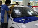 清凉一夏 长沙奥迪汽车玻璃贴威固膜 隔热防晒 更清晰视野