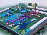 夏季全新设计水上乐园出租 大型水上游乐乐园设备租赁