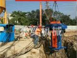 回收工法桩用的液压拔桩机
