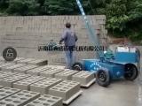 空心砖电动码砖机