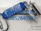 导轨式防坠器-内滑外卡,铝合金材质,整体式结构,安全实用