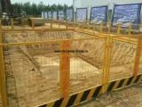 深圳坑基护栏厂家/楼层坑基围栏价格/建筑工地施工防护栏厂