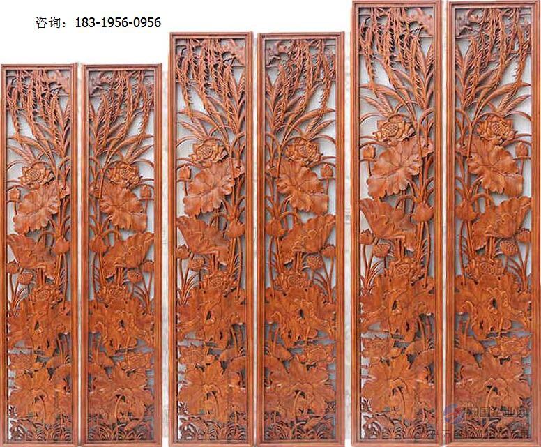 广州木雕窗花厂家