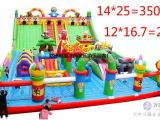 新款充气城堡室外大型 充气滑梯气模玩具 淘气堡蹦蹦床 气垫床