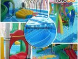 室内婴幼儿游泳池设备厂家创新亚克力单面玻璃婴幼儿游泳池设备