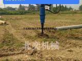 螺旋钻机-挖掘机带的钻孔机