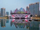 上海雕塑 建筑工程景观睡莲不锈钢雕塑 莲花水景玻璃钢雕塑
