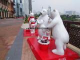 上海雕塑 电影院商场广告代言人物卡通玻璃钢雕塑