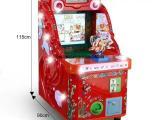 新款章鱼王梦幻水机射水机激光雷射儿童玩具投币游戏机