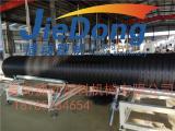 青岛HDPE立筋式中空壁塑钢缠绕管设备厂家