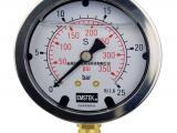 高压压力表TY-2.5规格