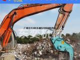 挖掘机拆迁为什么用液压粉碎钳