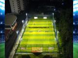 标准足球场灯杆安装方案 优格足球场12米、15米高杆灯杆定制