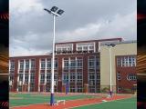 8米篮球场灯杆 锥形篮球场灯杆厂家直销 优格体育场馆照明配套