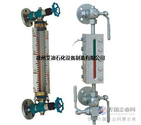 徐州艾迪HG5-G1型碳钢玻璃管液位计规格型号
