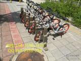 街道打造最美共享自行车停放点