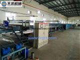天拓玻璃钢宽幅胶衣车厢板生产线 tiantuo001-2