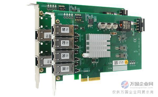 采用服务器芯片以太网卡pcie-poe354at/352at