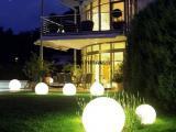 海粒子太阳能草坪灯户外照明灯具