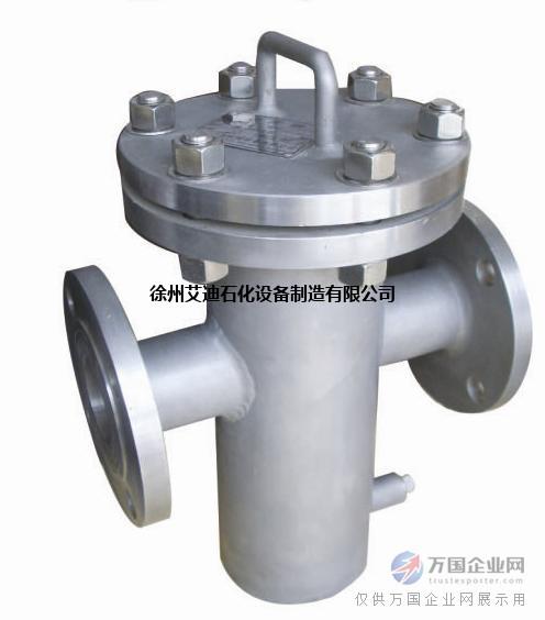 徐州艾迪SRB型碳钢|不锈钢304直通篮式过滤器价格规格齐全