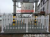 山东固定式变压器围栏 PVC围栏 塑钢围栏 箱变护栏 厂家