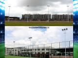 学校操场高杆灯杆 优格足球训练场照明灯杆厂家 节能又高效