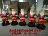 玻璃钢圣诞老人雕塑,圣诞主题雕塑