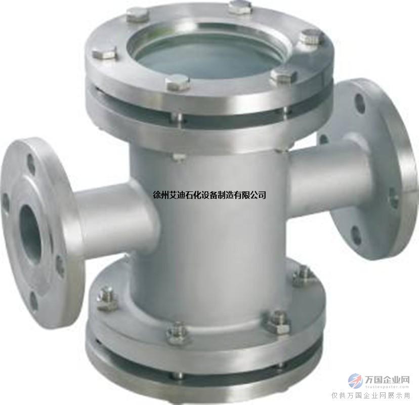 徐州艾迪SG-ZT型碳钢WCB管道直通视镜规格型号工作原理