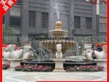 惠安大型石雕风水球 石雕会转带水的流水喷泉风水球雕刻