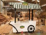 厂家定做小木屋防腐木售货亭户外售票亭木质岗亭奶茶屋移动售货车