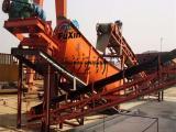 供应江西富鑫 小型螺旋洗石机 螺旋滚动式泥沙分离机