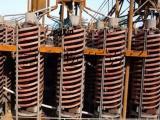 供应江西富鑫螺旋溜槽 5LL-1200 玻璃钢螺旋溜槽