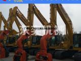 钢板桩打桩机 挖掘机水泥桩振动压桩机