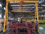 源盛YS375承重1吨固定手拉龙门架五金行业必备起重装卸设备