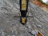 石英石分割使用愚公斧破裂机的效果