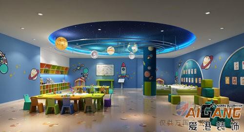 涪陵幼儿园装饰设计,幼儿早教中心装修,重庆爱港装饰