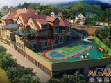 涪陵幼儿园装饰设计、幼儿早教中心装修、重庆爱港装饰