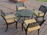 铁艺桌椅,藤桌藤椅,防腐木桌椅