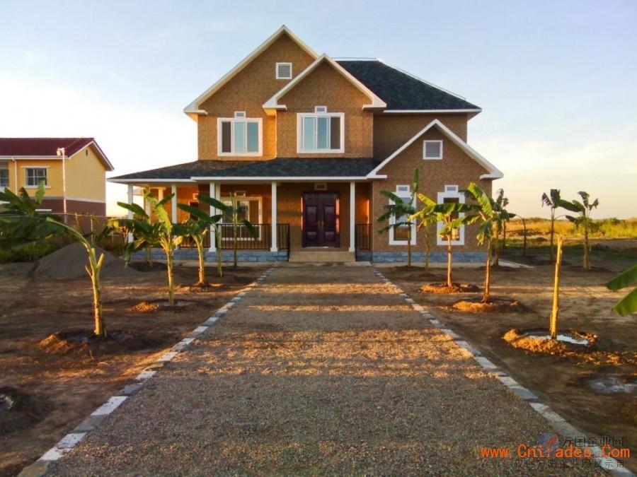 轻钢结构房屋 轻钢别墅建造 绿色环保住宅