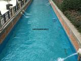 凌源温泉池刷蓝色泳池漆|水池密封固