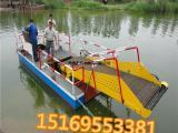 全自动水草收割船  液压水葫芦打捞设备