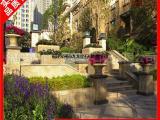 石雕花钵 市政园林绿植花盆装饰花钵 雕工精湛价格可电议
