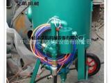 移动喷砂机械艾航机械开放式喷砂机安全可靠
