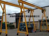 源盛YS435承重2吨脚轮手动龙门吊架日,化工业车间起吊设备