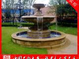 福建石雕喷泉生产厂家 花岗岩水钵 石雕水景喷泉